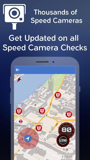 Датчик скорости камеры - полицейский радар скриншот 4