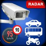 Датчик скорости камеры - полицейский радар