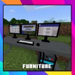 Мод на мебель для Майнкрафт