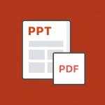 Alto PPT to PDF Converter: convert PowerPoint docs