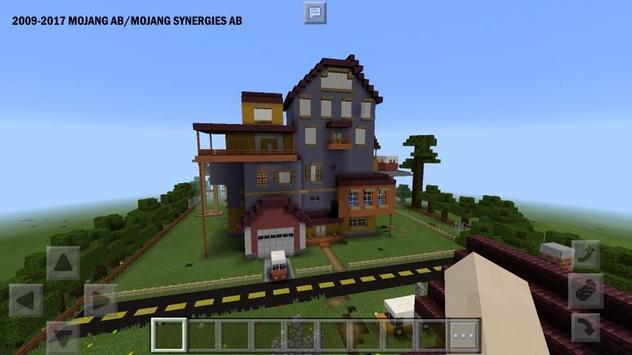 Карты Привет Сосед Майнкрафт скриншот 2