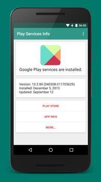 Play Services Info скриншот 1