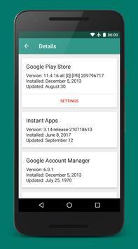 Play Services Info скриншот 2