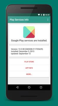 Play Services Info скриншот 4