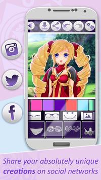Игры аниме создать аватар скриншот 5