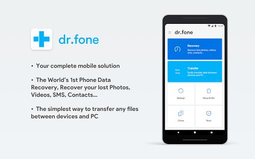 DR.Fone скриншот 1