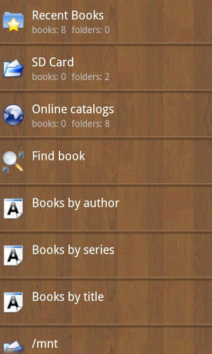 Cool Reader скриншот 4