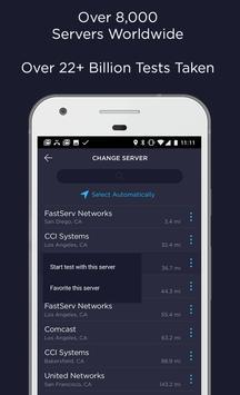 Speedtest.net скриншот 3