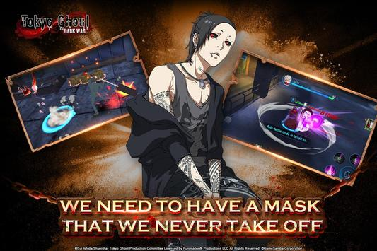 Tokyo Ghoul: Dark War скриншот 1