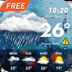 Точная погода: виджет погоды и прогноз погоды
