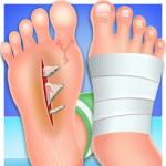 Médico de unhas e pés
