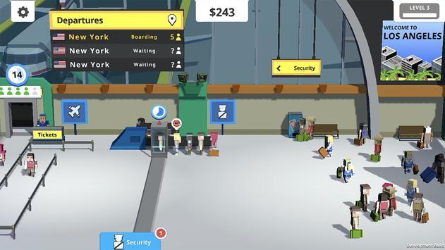 Idle Tap Airport скриншот 2