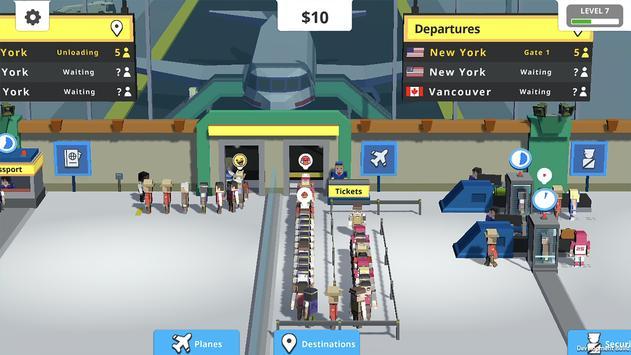 Idle Tap Airport скриншот 3