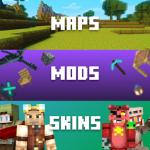 Скины, Моды, Карты для Minecraft PE