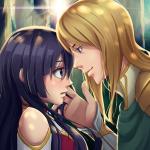 Аниме игра история про любовь
