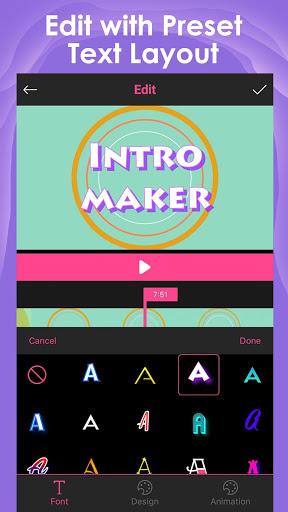 Intro Maker для YouTube скриншот 2