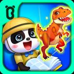 Мир динозавров маленькой панды