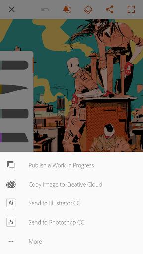 Adobe Illustrator Draw скриншот 5