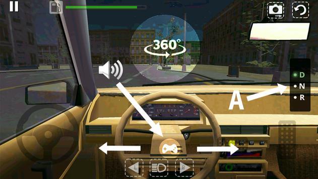 Симулятор Автомобиля скриншот 2