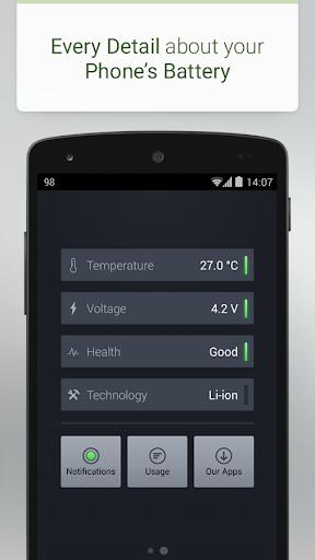 Батарея - Battery скриншот 4