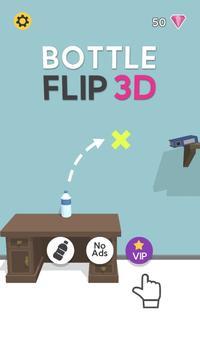 Bottle Flip 3D скриншот 1