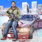 зима город Стрелок гангстер мафия