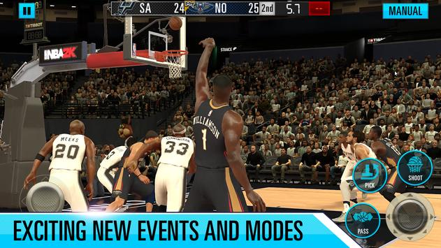 NBA 2K Mobile Basketball скриншот 4