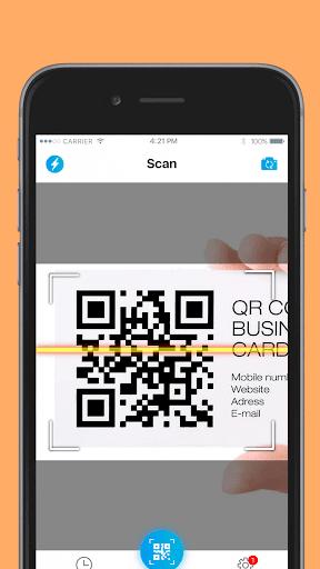 QR код - сканер штрих кодов скриншот 1