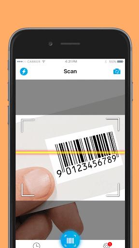 QR код - сканер штрих кодов скриншот 2
