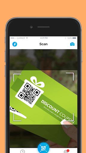 QR код - сканер штрих кодов скриншот 3