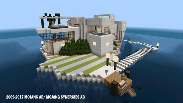 Современные дома для Майнкрафта скриншот 1