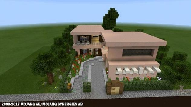 Современные дома для Майнкрафта скриншот 3