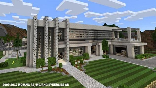 Современные дома для Майнкрафта скриншот 4