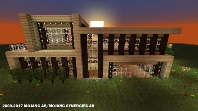 Современные дома для Майнкрафта скриншот 5