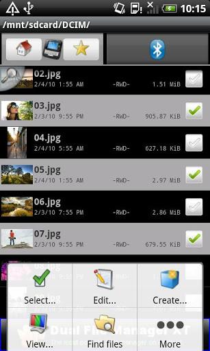 Bluetooth File Transfer скриншот 1