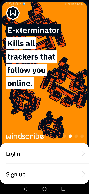 Windscribe VPN скриншот 2
