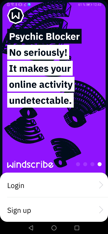Windscribe VPN скриншот 4