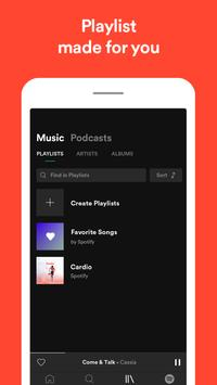 Spotify скриншот 4