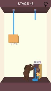 Rescue Cut - Rope Puzzle скриншот 2