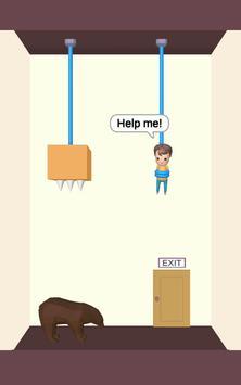 Rescue Cut - Rope Puzzle скриншот 4