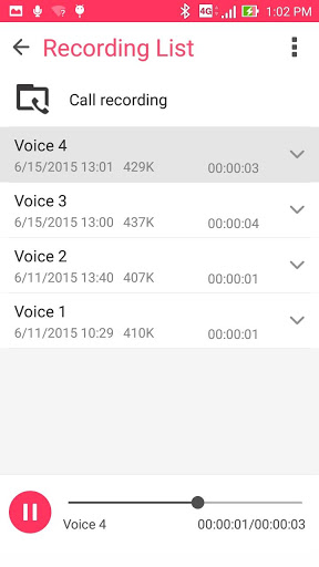 ASUS Sound Recorder скриншот 3