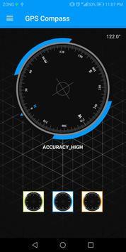компас на русском языке без интернета gps компас скриншот 5