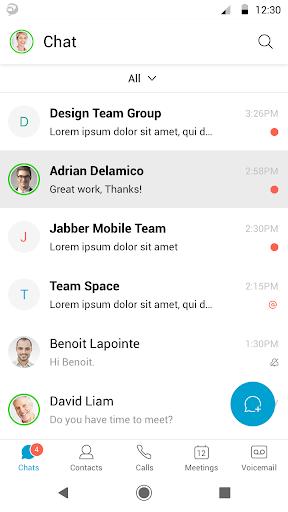 Cisco Jabber скриншот 2