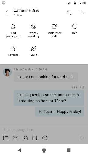 Cisco Jabber скриншот 4