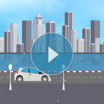 Cityscape animated weather backgrounds add-on