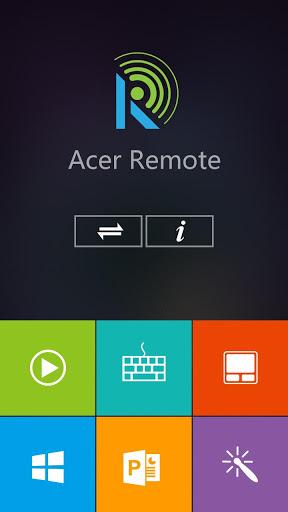 Acer Remote скриншот 1