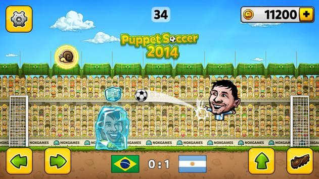 Кукольный футбол 2014 скриншот 2