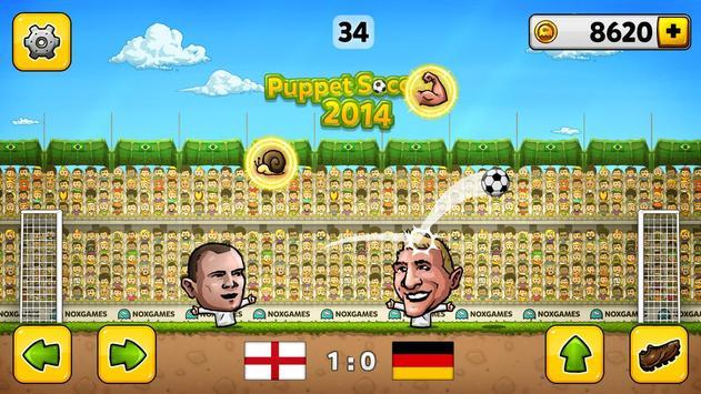 Кукольный футбол 2014 скриншот 3