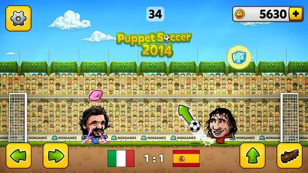 Кукольный футбол 2014 скриншот 4