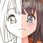 рисовать аниме поэтапно